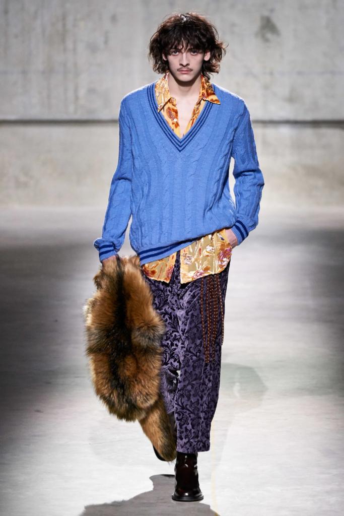 mespromenades-Dries Van Noten Fall 2020 Menswear Fashion Show-credits-@driesvannoten
