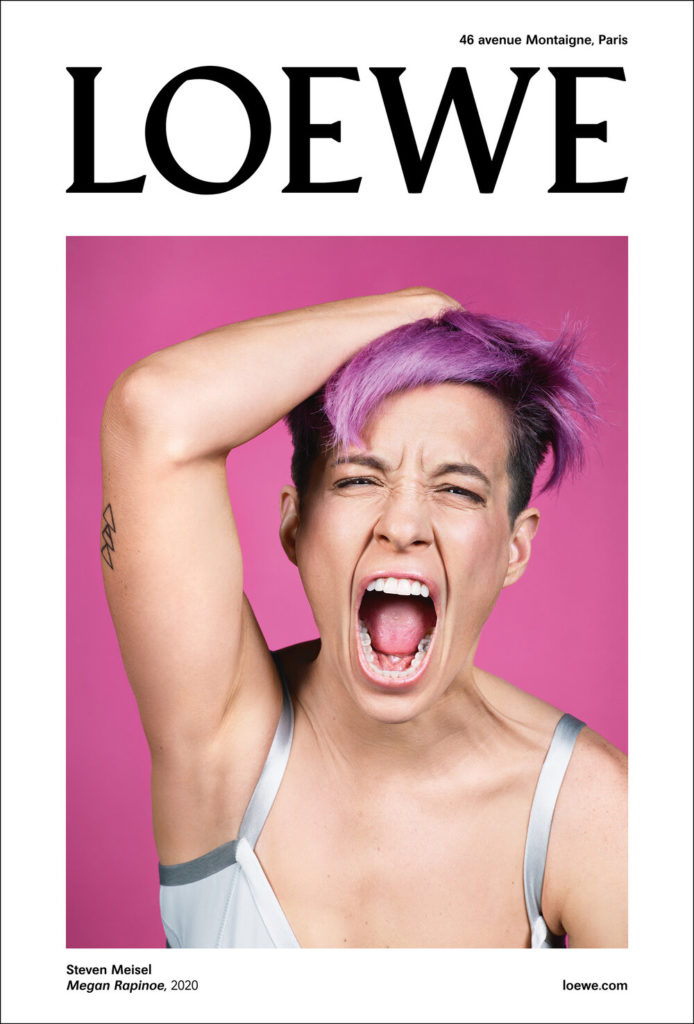 mespromenades-loewe-fw-2020-campaign-megan-rapinoe-photo-@steven-meisel-02