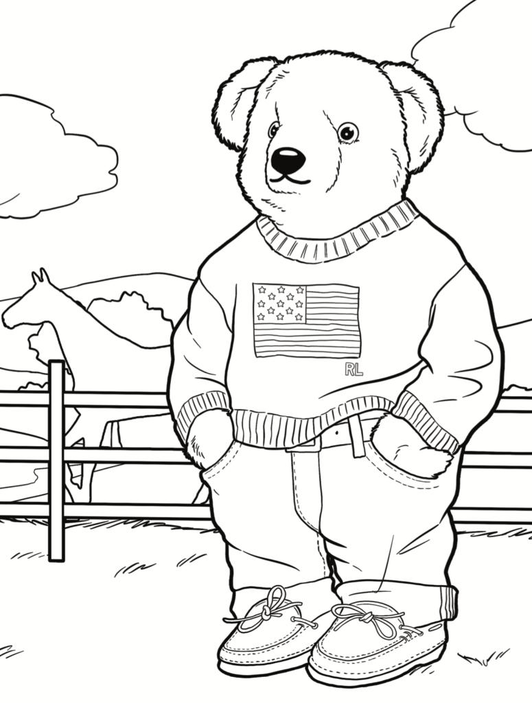 mespromenades-livre-a-colorier-polo-bear-@-credits-polo-ralph-lauren-noir-et-blanc-01