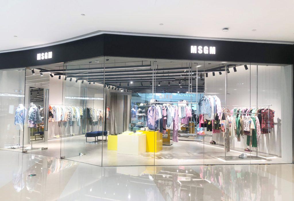 MESPROMENADES-MSGM-store-ZHENGZHOU-GRAND-EMPORIUM-CHINA -OUTSIDE