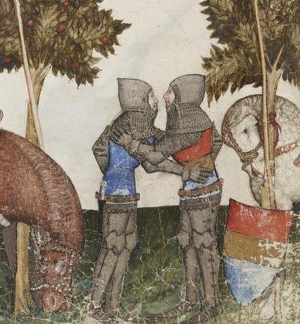 le-baiser-entre-chevalier-©-credit-raconte-moi-lhistoire